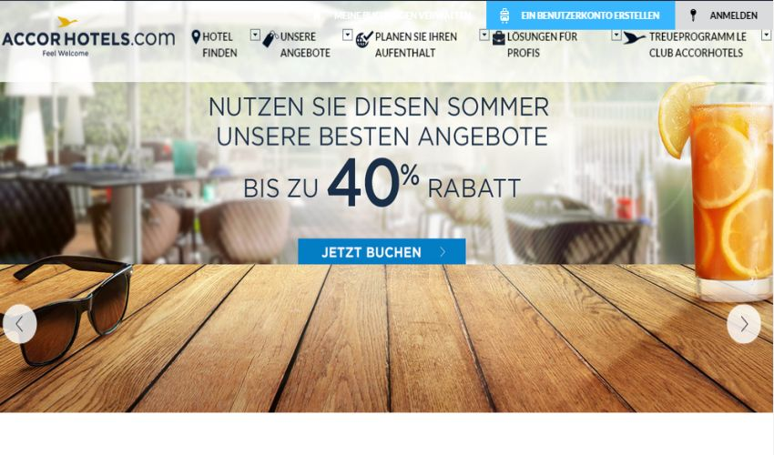 Accor Hotels Gutschein