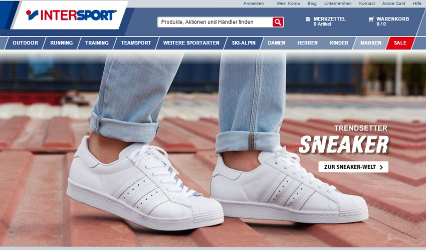 Intersport Gutschein