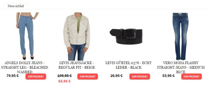 Jeans Meile Angebot