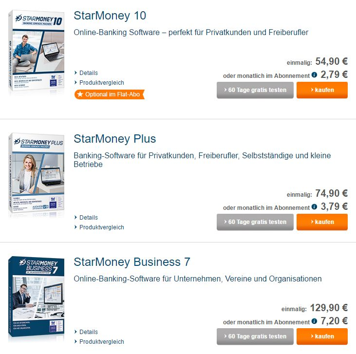 Starmoney Software
